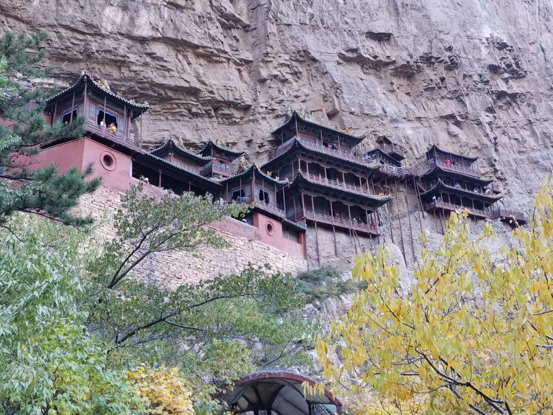 <b>秋天的寺院</b>