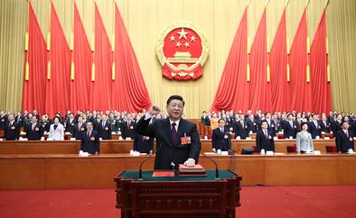 <b>中华人民共和国主席、中华人民共和国中央军事委员会主席习近平宣</b>
