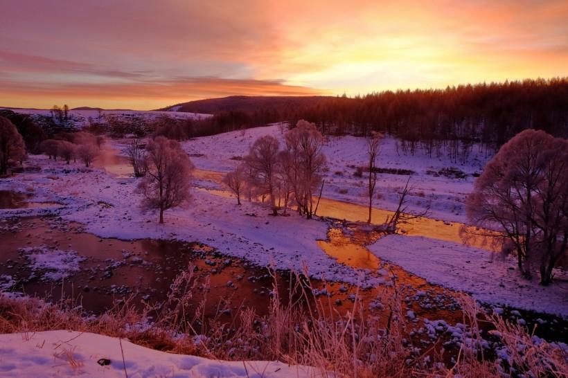 <b>内蒙古阿尔山国家森林公园冬景</b>