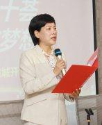 县委统战部副部长工商联党组书记李晓霞参加虞城社区团