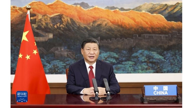 习近平出席第七十六届联合国大会一般性辩论并发表重要